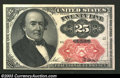 Fractional Currency:Fifth Issue, Fifth Issue 25c, Fr-1309, Choice-Gem CU. Short key variety. ...