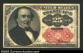 Fractional Currency:Fifth Issue, Fifth Issue 25c, Fr-1309, XF. Short key variety....