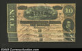 Confederate Notes:1864 Issues, Three consecutive 1864 T-68 $10s, all Choice Crisp ...