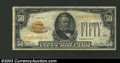 Small Size:Gold Certificates, 1928 $50 Gold Certificate, Fr-2404, Fine-VF. This is a well ...