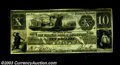 Obsoletes By State:Michigan, 1838 $10 Farmers Bank of Sandstone, Barry, Michigan, G-10, XF. ...
