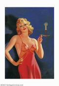 Original Illustration Art:Pin-up and Glamour Art, Earle K. Bergey - Original Pulp Magazine Cover Art (c.1933). In the1930s, Bergey produced cover images for such publication...