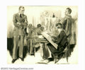 Original Illustration Art:Mainstream Illustration, James Montgomery Flagg (1877-1960) Original Story Illustration(c.1930). This large and impressive composition by James Mont...