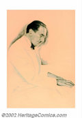 Original Illustration Art:Mainstream Illustration, Cardwell S. Higgins (1902-1983) Original Painting (c.1930). Animpressive portrait of famed pianist Rudolph Frimel, noted co...