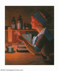 Original Illustration Art:Mainstream Illustration, Albert W. Turton - Original Illustration (c.1915). A wonderfulsubject and great transitional period piece which bridges the...