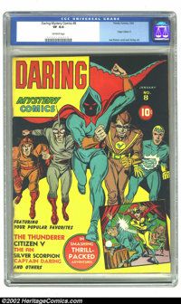 Daring Mystery Comics #8 (Timely, 1942) CGC VF 8.0 Off-white pages. Just two unrestored copies of this issue, which woul...