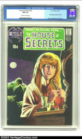Bronze Age (1970-1979):Horror, House of Secrets #92 (DC, 1971) CGC NM 9.4 Off-white to whitepages. This is the classic Berni Wrightson cover that brought ...