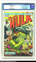 Bronze Age (1970-1979):Superhero, The Incredible Hulk #180 (Marvel, 1974) CGC NM+ 9.6 Off-white towhite pages. Herb Trimpe and Jack Abel are the first to dra...