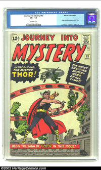 Journey into Mystery #83 (Marvel, 1962) CGC VG+ 4.5 Off-white pages. Steve Ditko and Jack Kirby bring their version of t...