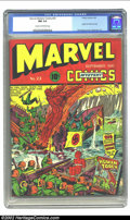 Golden Age (1938-1955):Superhero, Marvel Mystery Comics #23 (Timely, 1941) CGC NM 9.4 Cream to off-white pages. A brilliant book inside and out. Structurally,...