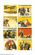 """Movie Posters:Western, Thundering Herd, The (Paramount, 1925). Lobby Card Set (11"""" X 14"""").Jack Holt stars again in this adaptation of a Zane Grey ..."""