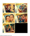 "Movie Posters:Western, Rocky Mountain Mystery (Paramount, 1935). Five Lobby Cards (11"" X14""). Offered here are five cards to a film adapted from a..."