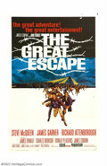 """Movie Posters:Adventure, Great Escape, The (United Artists, 1963). One Sheet (27"""" x 41"""").Steve McQueen as the """"Cooler King"""" leads an international a..."""