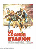 "Movie Posters:Adventure, Great Escape, The (United Artists, 1963). French (46"" X 63""). Thisposter is given a full page in Bruce Hershenson's book ""W..."
