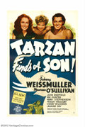 "Movie Posters:Adventure, Tarzan Finds a Son (MGM, 1939). One Sheet (27"" X 41""). The fourthin the M-G-M Tarzan series, this popular entry has Tarzan ..."
