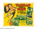 """Movie Posters:Adventure, Tarzan Finds a Son (MGM, 1939). Half Sheet (22"""" X 28""""). This is oneof the better formats for this outstanding entry in the ..."""