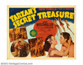 "Movie Posters:Adventure, Tarzan's Secret Treasure (MGM, 1941). Half Sheet (22"" X 28""). Fine...."