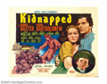 "Movie Posters:Adventure, Kidnapped (20th Century Fox, 1938). Half Sheet (22"" X 28""). RobertLouis Stevenson's tale of late eighteen century English I..."