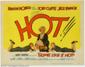 """Movie Posters:Comedy, Some Like It Hot (United Artists, 1959). Title Card (11"""" X 14"""").Marilyn Monroe, Tony Curtis and Jack Lemmon star in Billy W..."""