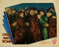 """Other Men's Women (Warner Brothers, 1931). Lobby Card (11"""" X 14""""). William Wellman would direct """"Public E..."""