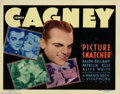 """Movie Posters:Crime, Picture Snatcher (Warner Brothers, 1933). Title Lobby Card (11"""" X14""""). Jimmy Cagney became of Warner Brothers' biggest star..."""