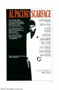 """Movie Posters:Crime, Scarface (Universal, 1983). One Sheet (27"""" X 41""""). Brian DePalma directed this updating of the Paul Muni gangster classic an..."""