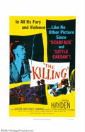 """Movie Posters:Film Noir, Killing, The (United Artists, 1956). One Sheet (27"""" X 41""""). StanleyKubrick directed this film at the age of twenty-eight, w..."""