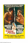 """Movie Posters:Crime, Cape Fear (Universal, 1962). One Sheet (27"""" X 41""""). If you think Robert Mitchum couldn't get more villainous than he was in ..."""