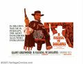 "Movie Posters:Western, A Fistful of Dollars (United Artists, 1964). Half Sheet (22"" X28""). Very Fine+, Rolled on Paper. ..."