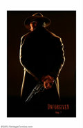 "Movie Posters:Western, Unforgiven (Warner Brothers, 1992). Advance One Sheet (27"" X 40"")Double Sided. Clint Eastwood won the Academy Award for the..."