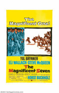"Movie Posters:Western, Magnificent Seven, The (United Artists, 1960). One Sheet (27"" X41""). Akira Kurosawa's ""The Seven Samurai"" was the basis for..."