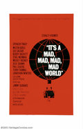 "Movie Posters:Comedy, It's a Mad, Mad, Mad, Mad World (United Artists, 1963). One Sheet(27"" X 41""). An amazing cast is assembled to make for one ..."
