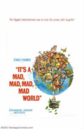 "Movie Posters:Comedy, It's a Mad , Mad, Mad, Mad World (United Artists, 1963).One Sheet(27"" X 41""). Offered here is the Jack Davis style poster f..."