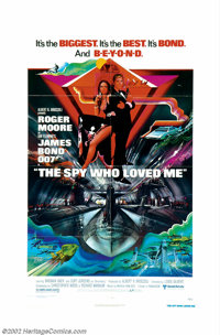"""Spy Who Loved Me, The (United Artists, 1976). One Sheet (27"""" X 41"""") and Lobby Card Set (11"""" X 14"""")..."""