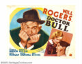 "Movie Posters:Comedy, Will Rogers Lot (20th Century Fox, 1937). Offered here are two HalfSheet (22"" X 28"") to early re-issues of the great Will R..."