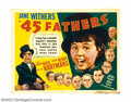 "Movie Posters:Comedy, Jane Withers Lot Offered here is a lot of four Half Sheets (22"" X28"") to 20th Century Fox's child star, Jane Withers comedi..."