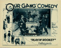 "Movie Posters:Comedy, Playin' Hookey (Pathe', 1928). (2) Lobby Cards. Beginning in 1922,throughout the thirties and into the forties, the ""Our Ga..."