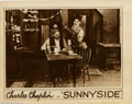 "Movie Posters:Comedy, Sunnyside (First National, 1919). Lobby Card (11"" X 14""). Chaplin made his third million dollar comedy with First National i..."