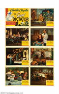 "Movie Posters:Comedy, Great Dictator, The (United Artists, 1940). Lobby Card Set (11"" X14""). Very Fine/Near Mint. ..."