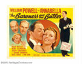 "Movie Posters:Comedy, Baroness and the Butler (20th Century Fox, 1938). Half Sheet (22"" X28""). William Powell and Annabella star in this ""domesti..."