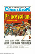 "Movie Posters:Adventure, Prince Valiant (20th Century Fox, 1954). One Sheet (27"" X 41"").This film is the stuff of childhood dreams. Given a strong c..."