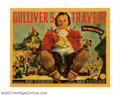 """Movie Posters:Animated, Gulliver's Travels (Paramount, 1936). Half Sheet (22"""" X 28""""). Theincredible success of Walt Disney's animated feature """"Snow..."""