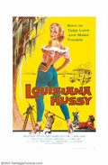 """Movie Posters:Miscellaneous, Louisiana Hussy (Howco, 1959). One Sheet (27"""" X 41""""). This lowbudget sexploitation romp dealing with a devious seductress i..."""
