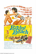 "Movie Posters:Comedy, Beach Party Lot (American International, 1963). (4) One sheets (27""X 41""). This lot consists of one sheets for all four of ..."