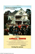 "Movie Posters:Comedy, Animal House (Universal, 1978). Advance One Sheet (27"" X 41""). JohnLandis' film about early '60s frat house life was a huge..."