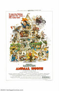 "Movie Posters:Comedy, Animal House (Universal, 1978). One Sheet (27"" X 41"") and Lobby Cards (11"" X 14"", Set 4). Director John Landis led John Belu..."