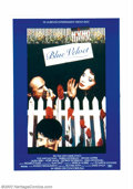 "Movie Posters:Drama, Blue Velvet (DeLaurentis, 1986). German One Sheet (23"" X 33""). This foreign release poster features the Dennis Hopper charac..."