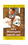 """Movie Posters:Drama, To Kill a Mockingbird (Universal, 1963). One-Sheet (27"""" X 41""""). This film, taken from Harper Lee's depression era story of t..."""