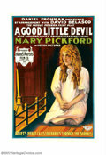 """Movie Posters:Drama, Good Little Devil (Famous Players Lasky, 1914). One Sheet (27"""" X 41""""). The poster offered here is from the first feature len..."""
