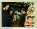 "Movie Posters:Comedy, Arsenic and Old Lace (Warner Brothers, 1944). Lobby Card (11"" X 14""). Cary Grant is held hostage by Peter Lorre and Raymond ..."